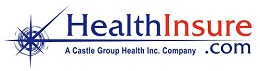HealthInsure Logo provides Employee Benefits with CastleHR who provides online hr library and Online Benefits Enrollment