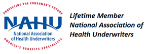 National Association of Health Underwriters Logo for CastleHR Membership providing Online Benefits Enrollment