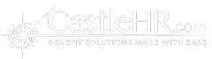 CastleHR White Logo for Online benefits enrollment